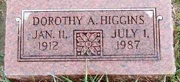 HIGGINS, DOROTHY A. - Sioux County, Iowa | DOROTHY A. HIGGINS