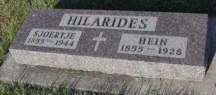 HILARIDES, HEIN - Sioux County, Iowa | HEIN HILARIDES