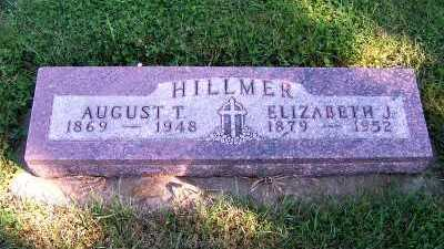 HILLMER, AUGUST T. - Sioux County, Iowa | AUGUST T. HILLMER
