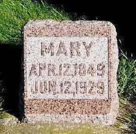 HIRSCHINGER, MARY - Sioux County, Iowa | MARY HIRSCHINGER