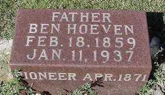 HOEVEN, BEN - Sioux County, Iowa | BEN HOEVEN