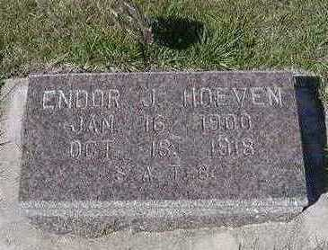 HOEVEN, ENDOR J. - Sioux County, Iowa | ENDOR J. HOEVEN