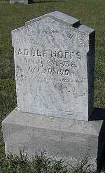 HOFFS, ADOLF - Sioux County, Iowa | ADOLF HOFFS