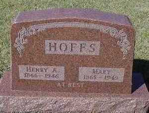 HOFFS, MARY (MRS. HENRY A.) - Sioux County, Iowa | MARY (MRS. HENRY A.) HOFFS