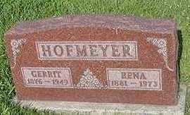 HOFMEYER, GERRIT - Sioux County, Iowa | GERRIT HOFMEYER