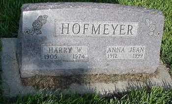 HOFMEYER, HARRY W. - Sioux County, Iowa | HARRY W. HOFMEYER