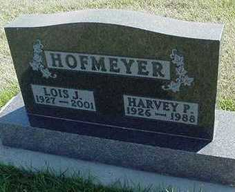 HOFMEYER, HARVEY P. - Sioux County, Iowa | HARVEY P. HOFMEYER