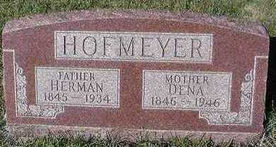 HOFMEYER, DENA (MRS. DENA) - Sioux County, Iowa | DENA (MRS. DENA) HOFMEYER