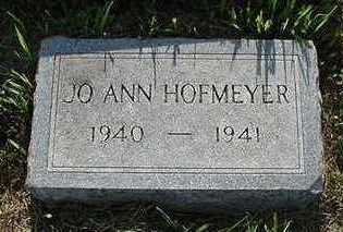 HOFMEYER, JOANN - Sioux County, Iowa | JOANN HOFMEYER