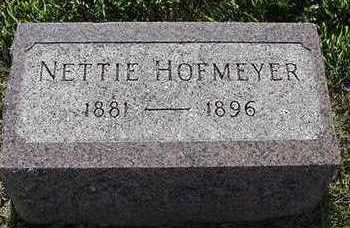 HOFMEYER, NETTIE - Sioux County, Iowa | NETTIE HOFMEYER