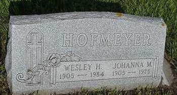 HOFMEYER, JOHANNA - Sioux County, Iowa | JOHANNA HOFMEYER