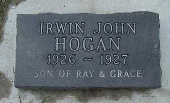 HOGAN, IRWIN JOHN - Sioux County, Iowa | IRWIN JOHN HOGAN