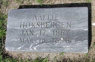 HOKSBERGEN, AALTJE - Sioux County, Iowa | AALTJE HOKSBERGEN