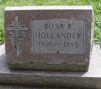 HOLLANDER, ROSA R. - Sioux County, Iowa | ROSA R. HOLLANDER