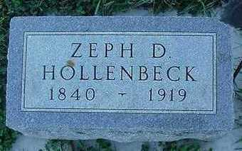 HOLLENBECK, ZEPH D. - Sioux County, Iowa | ZEPH D. HOLLENBECK