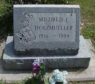 HOLZMEULLER, MILDRED E. - Sioux County, Iowa   MILDRED E. HOLZMEULLER