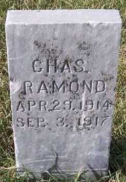 HORN, CHAS RAMOND - Sioux County, Iowa | CHAS RAMOND HORN