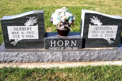 HORN, HERBERT - Sioux County, Iowa | HERBERT HORN