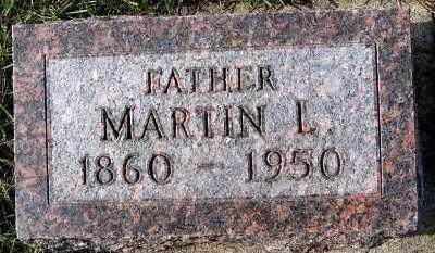 HORN, MARTIN L. - Sioux County, Iowa | MARTIN L. HORN