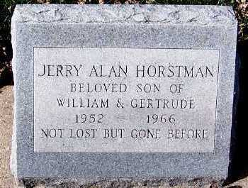 HORSTMAN, JERRY ALAN - Sioux County, Iowa | JERRY ALAN HORSTMAN