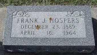 HOSPERS, FRANK J. - Sioux County, Iowa | FRANK J. HOSPERS