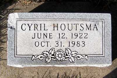 HOUTSMA, CYRIL - Sioux County, Iowa | CYRIL HOUTSMA