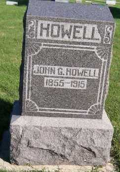 HOWELL, JOHN G. - Sioux County, Iowa | JOHN G. HOWELL