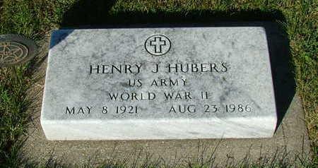 HUBERS, HENRY J. - Sioux County, Iowa | HENRY J. HUBERS