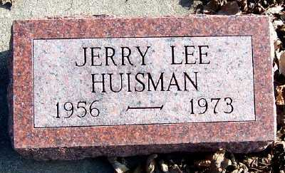 HUISMAN, JERRY LEE - Sioux County, Iowa | JERRY LEE HUISMAN