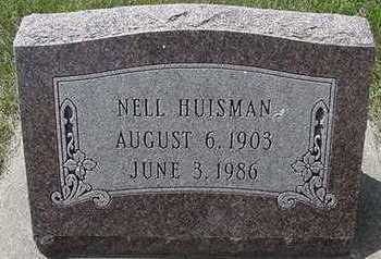 HUISMAN, NELL - Sioux County, Iowa | NELL HUISMAN