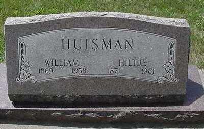 HUISMAN, WILLIAM - Sioux County, Iowa | WILLIAM HUISMAN