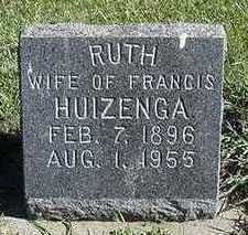 HUIZENGA, RUTH (MRS. FRANCIS) - Sioux County, Iowa | RUTH (MRS. FRANCIS) HUIZENGA