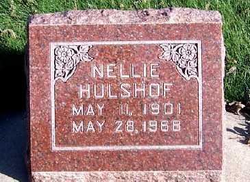 HULSHOF, NELLIE - Sioux County, Iowa | NELLIE HULSHOF