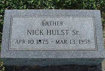 HULST, NICK SR. - Sioux County, Iowa | NICK SR. HULST