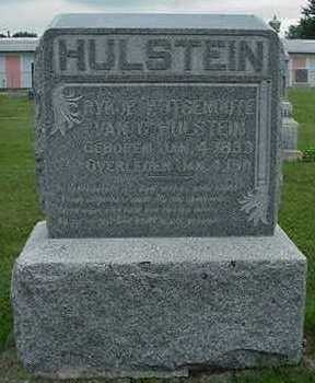 HULSTEIN, HEADSTONE - Sioux County, Iowa | HEADSTONE HULSTEIN