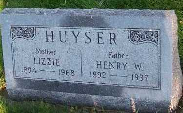 HUYSER, HENRY W. - Sioux County, Iowa | HENRY W. HUYSER