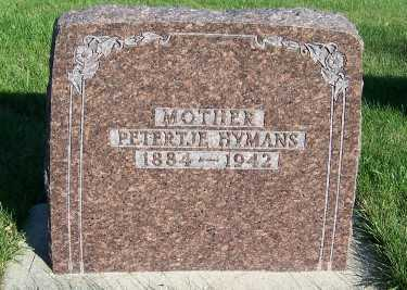 HYMANS, PETERJE - Sioux County, Iowa | PETERJE HYMANS