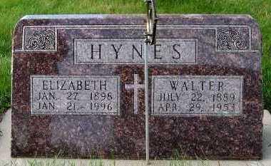 HYNES, WALTER - Sioux County, Iowa | WALTER HYNES