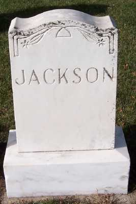 JACKSON, FAMILY HEADSTONE - Sioux County, Iowa | FAMILY HEADSTONE JACKSON