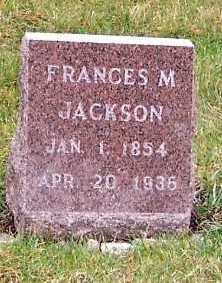 JACKSON, FRANCES M. - Sioux County, Iowa | FRANCES M. JACKSON
