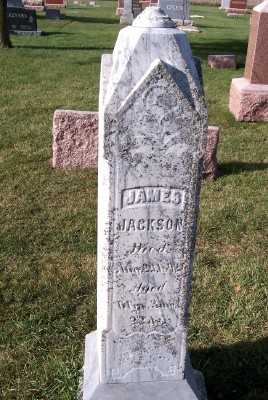 JACKSON, JAMES - Sioux County, Iowa | JAMES JACKSON