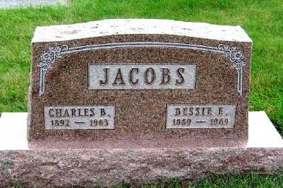 JACOBS, BESSIE E. - Sioux County, Iowa | BESSIE E. JACOBS