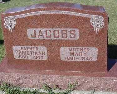 JACOBS, CHRISTIAAN - Sioux County, Iowa | CHRISTIAAN JACOBS