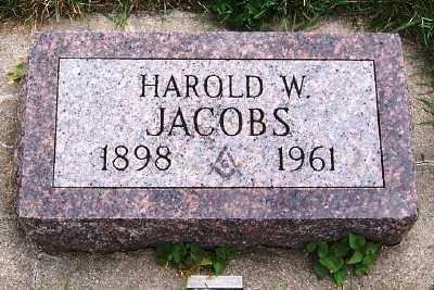 JACOBS, HAROLD W. - Sioux County, Iowa | HAROLD W. JACOBS