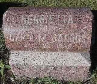 JACOBS, HENRIETTA - Sioux County, Iowa | HENRIETTA JACOBS