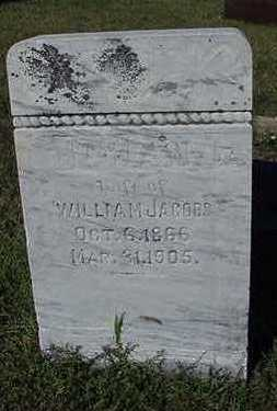 JACOBS, JOHANNA  (MRS. WILLIAM) - Sioux County, Iowa | JOHANNA  (MRS. WILLIAM) JACOBS