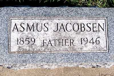 JACOBSEN, ASMUS - Sioux County, Iowa | ASMUS JACOBSEN