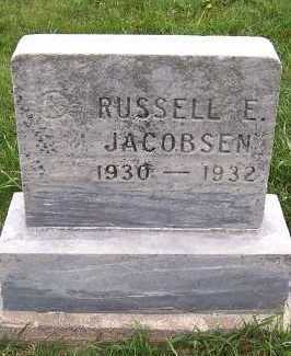 JACOBSEN, RUSSELL E. - Sioux County, Iowa | RUSSELL E. JACOBSEN