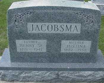 JACOBSMA, HENRY SR. - Sioux County, Iowa | HENRY SR. JACOBSMA