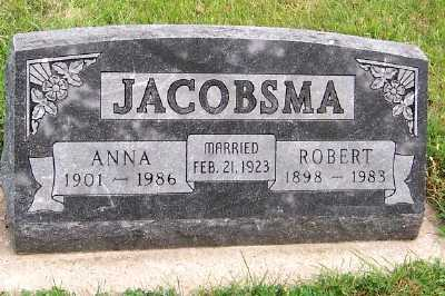 JACOBSMA, ANNA - Sioux County, Iowa | ANNA JACOBSMA